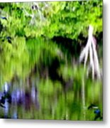 Plymouth Reflections #2 Metal Print