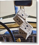 Plymouth Special Deluxe Dice Metal Print