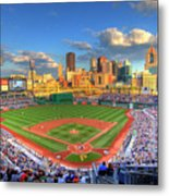 Pnc Park Metal Print by Shawn Everhart