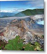 Poas Volcano Metal Print