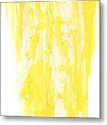 Poinciana Tree Yellow Metal Print by Anthony Burks Sr