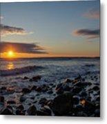 Point Allerton Sunrise - Nantasket Island Metal Print
