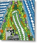 Point Arena Lighthouse Metal Print by Rojax Art