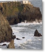 Point Bonita Lighthouse Metal Print