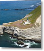 Point Conception Metal Print