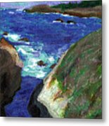 Point Lobos Metal Print
