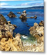 Point Lobos Whalers Cove- Seascape Art Metal Print