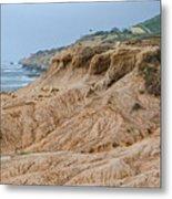Point Loma Coastline Metal Print