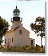 Point Loma Lighthouse Metal Print