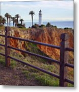 Point Loma Lighthouse California Metal Print