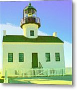 Point Loma Lighthouse Metal Print