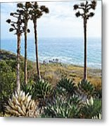 Point Loma Lighthouse Overlook Metal Print