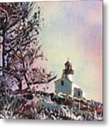Point Loma Lighthouse- San Diego Metal Print