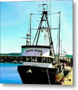 Point Made At Pt Townsend Wa Metal Print