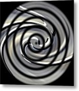 Point Of Illusion Metal Print