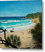 Point Perry Coolum Beach Metal Print