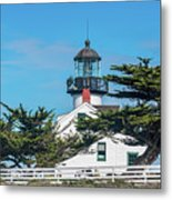 Point Pinos Lighthouse Metal Print