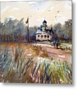 Point Pinos Lighthouse Metal Print