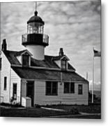 Point Pinos Pacific Grove Lighthouse Metal Print