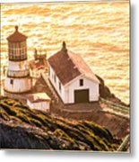 Point Reyes Lighthouse 2 Metal Print