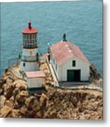 Point Reyes Lighthouse II Metal Print