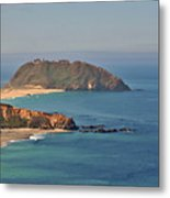 Point Sur Lighthouse On Central California's Coast - Big Sur California Metal Print by Christine Till