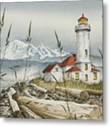 Point Wilson Lighthouse Metal Print by James Williamson