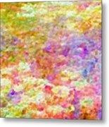 Pointillist Colour Metal Print