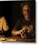 Poker Night Metal Print