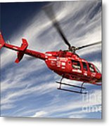 Polar First Helicopter Metal Print