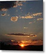 Polarized Sunset  Metal Print