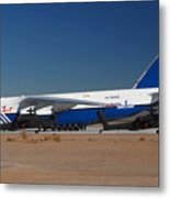 Polet Antonov An-124 Ra-82080 Phoenix-mesa Gateway Airport January 14 Metal Print