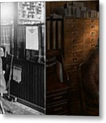 Police - The Private Eye - 1902 - Side By Side Metal Print