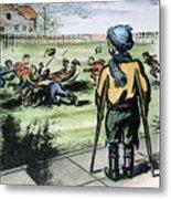Polio Cartoon, 1957 Metal Print