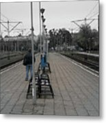Polish Train Station Metal Print