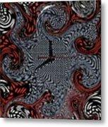 Polka Dot Time Metal Print