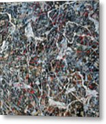 Pollock's Ghosts Metal Print