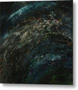 Pollution Galaxy Metal Print