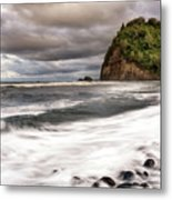 Pololu Whitewash Metal Print