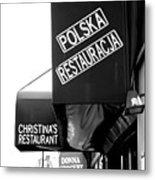 Polska Restauracja Metal Print