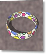 Poly Ring  Metal Print