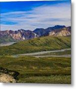 Polychrome Pass Area Denali National Park Four Metal Print