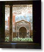 Pompei View 1 Metal Print