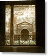 Pompei View 2 Metal Print