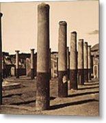 Pompeii, Excavation Metal Print