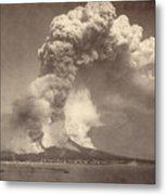 Pompeii: Mount Vesuvius Metal Print