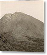 Pompeii: Mt. Vesuvius, C1890 Metal Print