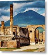 Pompeii Redeux Metal Print