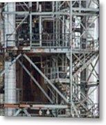 Ponca City Refinery Two Metal Print