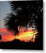 Ponce Inlet Florida Sunset Metal Print
